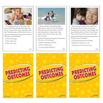Predicting Outcomes Practice Cards Yellow Level - 1