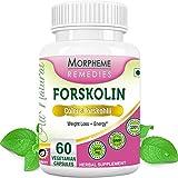 Morpheme Forskolin - Pure Coleus Forskohlii For Weight Loss - 500mg Extract - 60 Veg Capsules