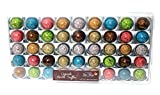 Exquisite Marble Truffles Imported From France- 7 Different Colors, Recipes & Fillings - 45 Truffle Creations in a Hard Plastic Case - 18.5 Ounces