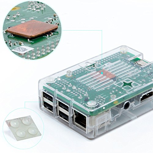 Aukru-Transparente-Caja-Micro-USB-5V-3000mA-Cargador-disipador-de-calor-para-Raspberry-Pi-3-Modelo-B