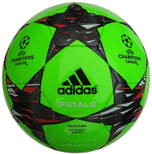 ADIDAS FINALE 14 CAPITANO UEFA CHAMPIONS LEAGUE FUSSBALL NEON-GREEN hier kaufen