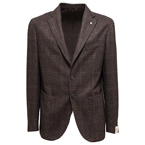 6347Q giacca uomo L.B.M. 1911 giacche marrone jacket men [52]