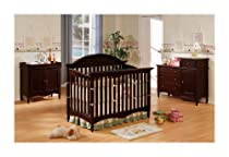 Hot Sale Crib Changing Table Chest 4 Piece Set Stanton Espresso Finish