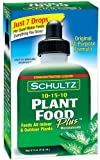 Lawn & Patio - Schultz All Purpose Plant Food Plus 10-15-10, 4 fl oz. 1011