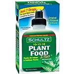 Schultz All Purpose Plant Food Plus 10-15-10, 4 fl oz. 1011