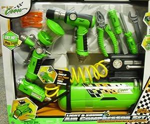 Amazon.com: Pit Crew Air Compressor Set: Toys & Games