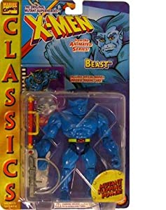 """X-men Classics"" Beast w/ Mutant Flipping Action"