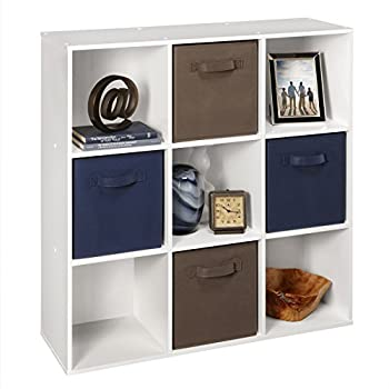 ClosetMaid (421) Cubeicals Organizer, 9-Cube - White