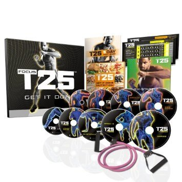 T25 Workout DVD Set Complete 14 Disk Alpha Beta Gamma Collection
