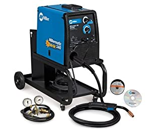 Millermatic 140 MIG Welder Auto-Set and Small Cart 951373 from Miller