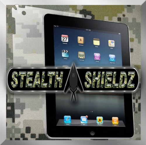 2-Pack Stealth Shieldz© Apple iPAD 2 FULL BACK Protector LIFETIME WARRANTY (Ultra CLEAR)(Stealth Shieldz© Retail Packaging)
