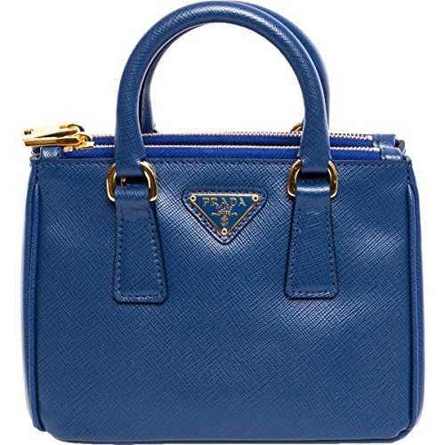46e45ebaee3f Prada Womens Saffiano Mini Galleria Leather Convertible Crossbody Handbag