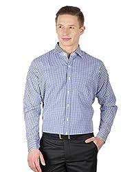 Arihant Men's Cotton Checkered Formal Shirt (AR73040144)