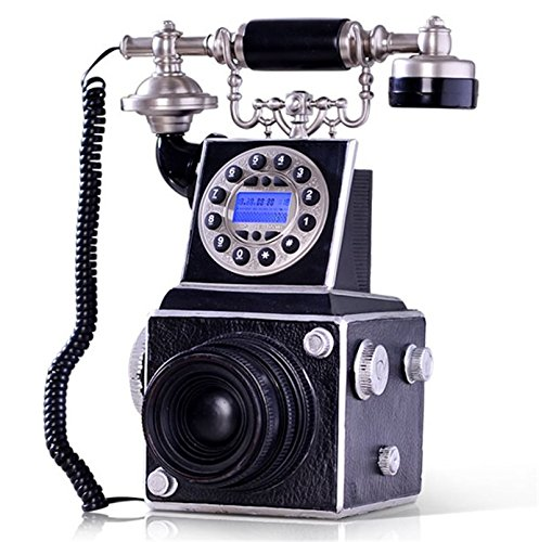 Novelty Vintage Camera Antique Telephone