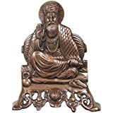 Divya Mantra Guru Nanakji Wall Hanging In Copper Finish