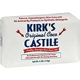 Kirks Castile: Coco Castile Bar Soap, Original 4 Oz (6 Pack)