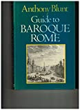 img - for Guide to Baroque Rome (Icon Editions) book / textbook / text book
