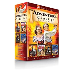 Adventure Classics Collection (Count of Monte Cristo / Last of the Mohicans / Man in the Iron Mask / Corsican Brothers)