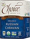 Choice Organic  Russian Caravan Black Tea, 16 Count Box