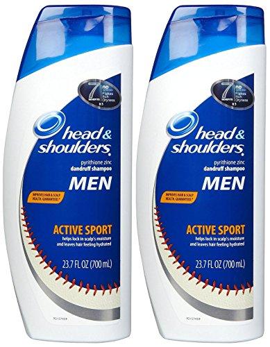 Head & Shoulders Active Sport Men Dandruff Shampoo - 23.7 oz - 2 pk