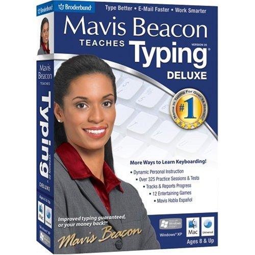 Mavis Beacon Teaches Typing 20 Deluxe (Fr/Eng manual)