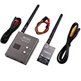 Boscam 32Ch 5.8G 600mw 5km Wireless AV Transmitter TS832 Receiver RC832 for FPV