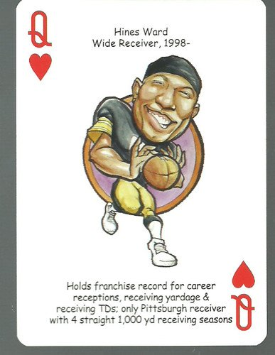 Hines Ward - Oddball Pittsburgh Steelers Playing Card