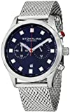 Stuhrling Original Mens 562.33116 Champion Victory Elite Quartz Chronograph Date Blue Dial Watch