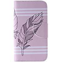 UNEXTATI Galaxy J5 Premium PU Wallet Case Cover For Samsung Galaxy J5 Slim-Fit Leather Flip Case With Card-Slot... - B01F5JPSN4