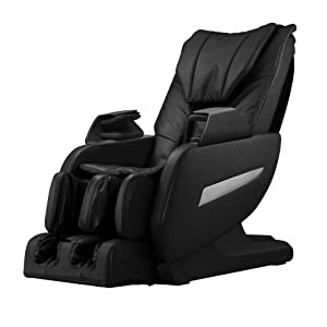 Full Body Zero Gravity Shiatsu Massage Chair Recliner w/Heat and Long Rail 161