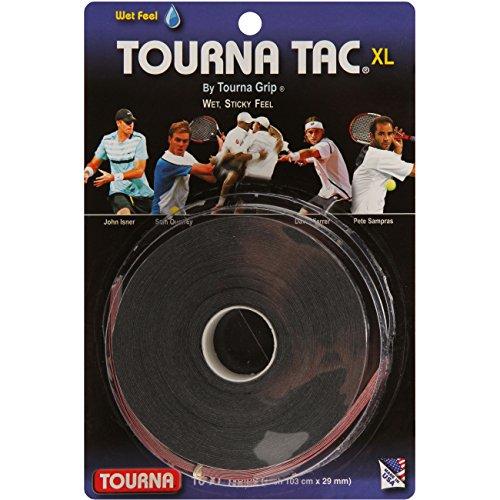 Unique Overgrip Tourna Tac 10er, Schwarz, 0306180124800000