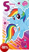 """My Little Pony MP012 """"Happy 5th Birthday. Hope Your Day Is Full Of Sparkles!"""" Biglietto d"""