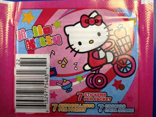 Hello Kitty Panini 7-sticker Pack - 1