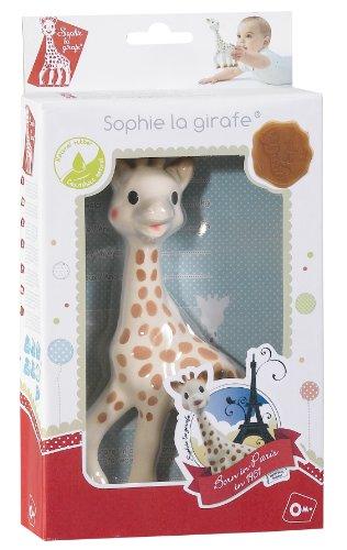 Sophie la girafe Geschenkkarton rot/wei hergestellt von Vulli
