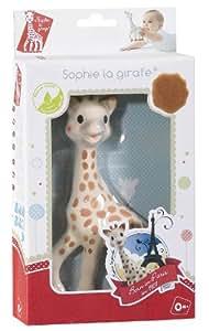 Vulli Sophie la girafe premier jouet de bébé