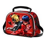 LADYBUG Defenders - Bag for Snack 3D - For Children - Color Red