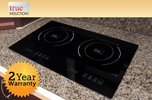 True Induction S2F3 Energy Efficient Double Burner Counter Inset Cooktop 1800W ,-WH#G4832 TYG43498TY4-U779498 (True Induction S2f3 compare prices)
