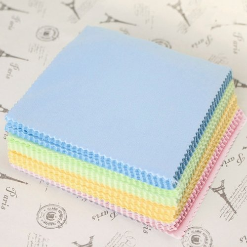 Soft Microfiber Dust Cloth For Mobile Phones, Eyeglasses (2400 Pcs In One Packaging, The Price Is For 2400 Pcs)