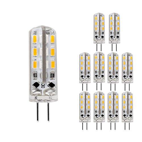 LE Lampadina a LED da 1,5W G4 3000K luce bianco caldo 10 unità