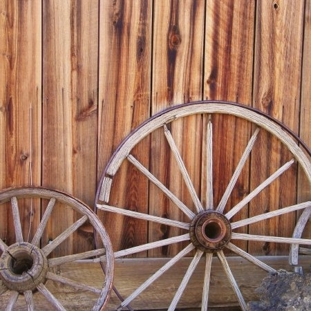 McRice Photo Papers 12'x12' Wagon Wheels; 25 Items/Order
