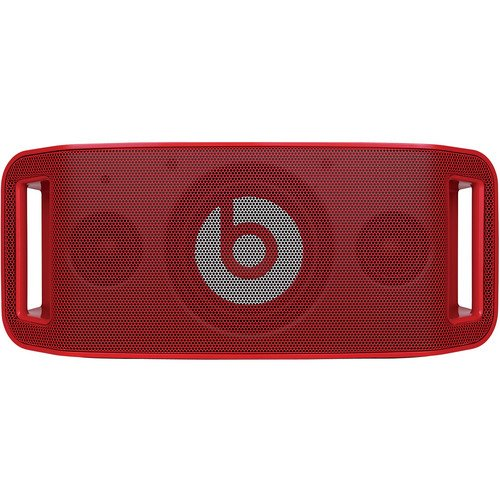 Beats by Dr. Dre Beatbox Portable Speaker - Lil Wayne (Red) Bundle with Custom Design Zorro Sounds Cleaning Cloth