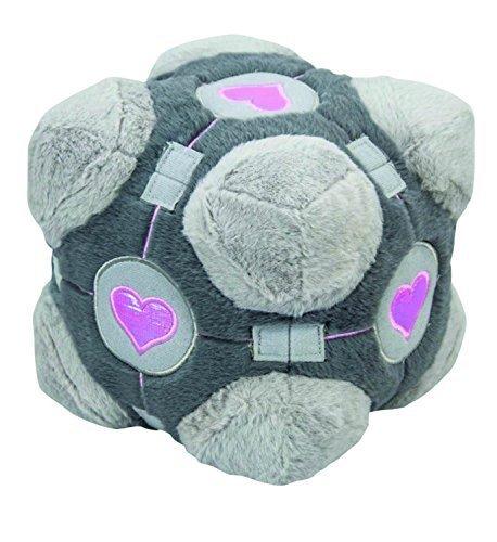 portal plush figure companion Cube by Mighty Fine