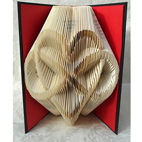 Hand Folded Book Art Sculpture