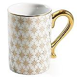 Gold Kashmir Mug