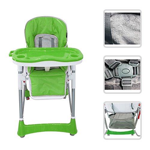 Verstellbarer-Kinderhochstuhl-grner-Stuhl-mit-Tablett-fr-Kinder-von-6-Monaten-bis-3-Jahren