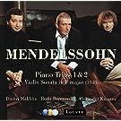 Mendelssohn : Piano Trios Nos 1, 2 & Violin Sonata [1838]