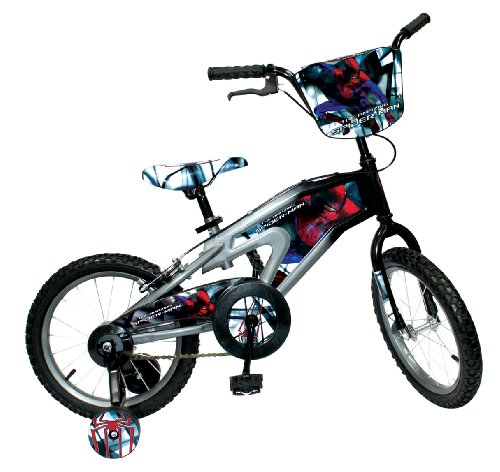 Great Features Of Spiderman Bicycle (Multi, 16-Inch)