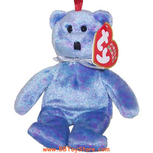 TY Jingle Beanie Baby - CLUBBY 2 the Bear (5 inch)