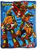 PLAID POLAIRE TORTUES NINJA 120x140 cm