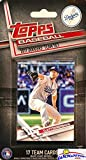 Los Angeles Dodgers 2017 Topps Baseball EXCLUSIVE Special Limited Edition 17 Card Complete Team Set with Clayton Kershaw, Corey Seager & Many More Stars & Rookies! Shipped in Bubble Mailer! WOWZZER!
